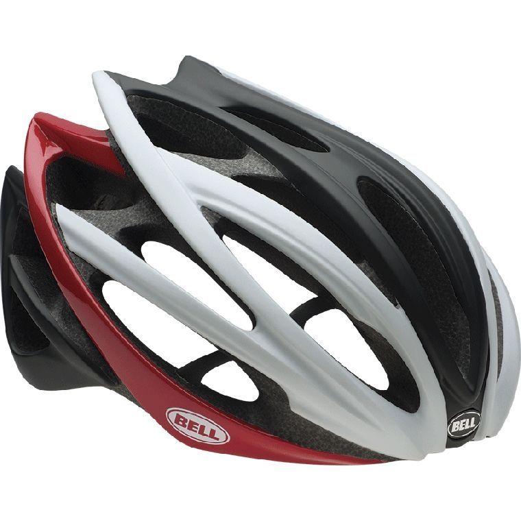 Casque Bell GAGE 2015 Blanc/Noir/Rouge