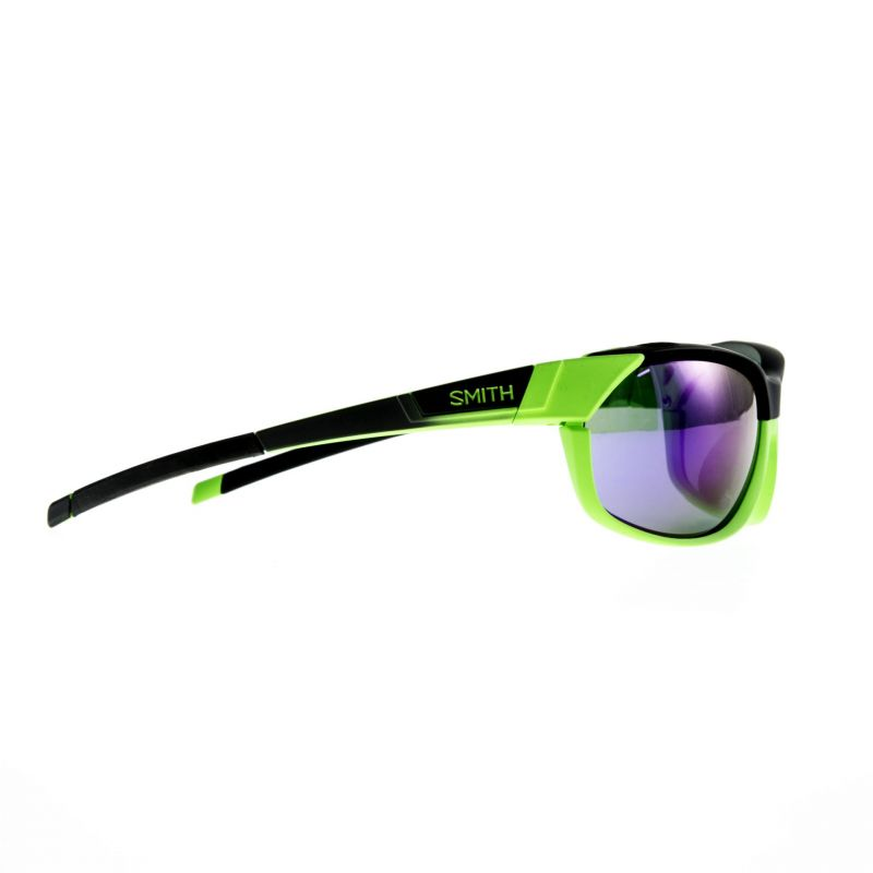 Lunettes Smith Optics PivLock Overdrive Anthracite Vert Fluo/Purple Sol-X - 1