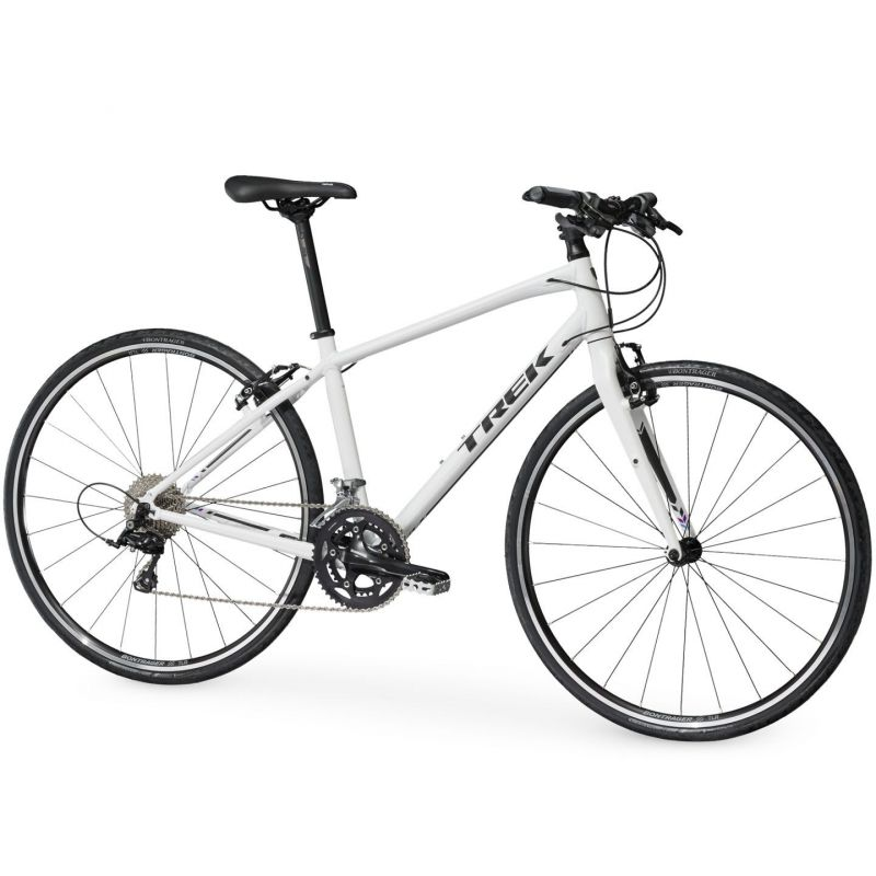 Vélo fitness Trek FX S 4 WSD Blanc 2017 - 1