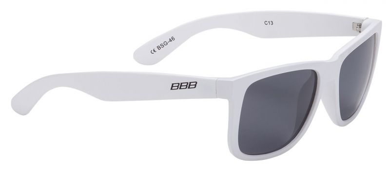 Lunettes BBB Street verres polarisés fumés Blanc / Fumé - BSG-46