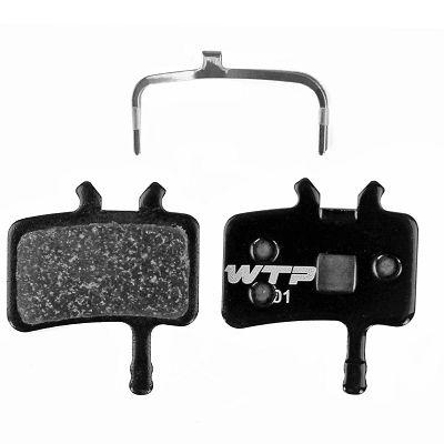 Plaquettes de frein WTP Elite semi-métal comp. Avid Juicy et BB7 Méca