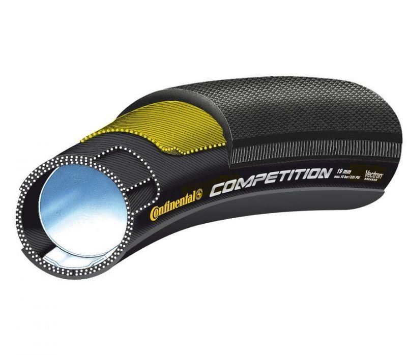 Boyau Continental Competition 700 x 22 Noir