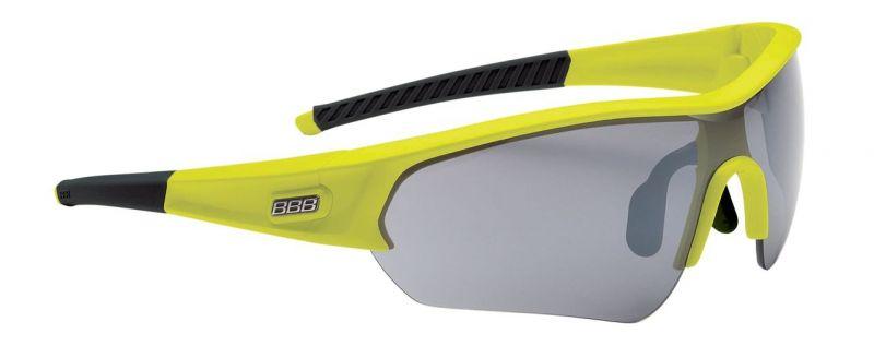 Lunettes BBB Select verre fumé Jaune fluo - BSG-4321