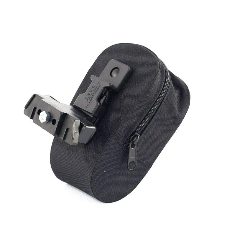 Sacoche de selle zippée Noir - 1