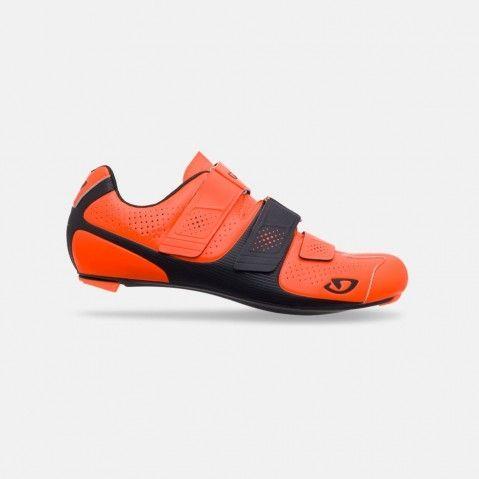 Chaussures route Giro Prolight SLX II Orange Fluo/Noir