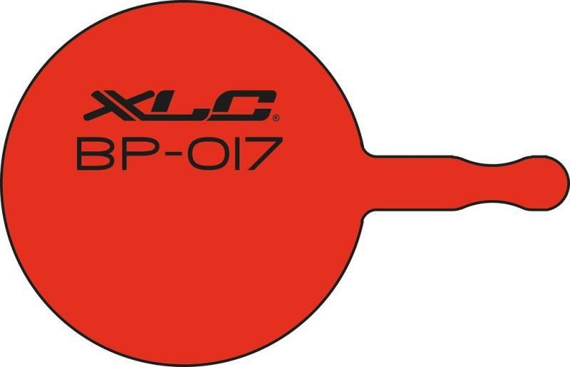 Plaquettes de frein XLC BP-O17 Avid BB5, XLC BR-D02, Promax DSK-720 Organiques