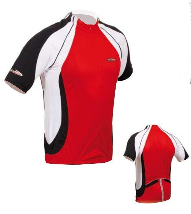 Maillot Massi Vulcan Rouge/blanc