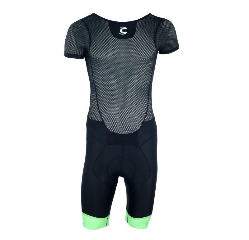 Cuissard Cannondale Elite Road 1 Bib Shorts Noir/Vert