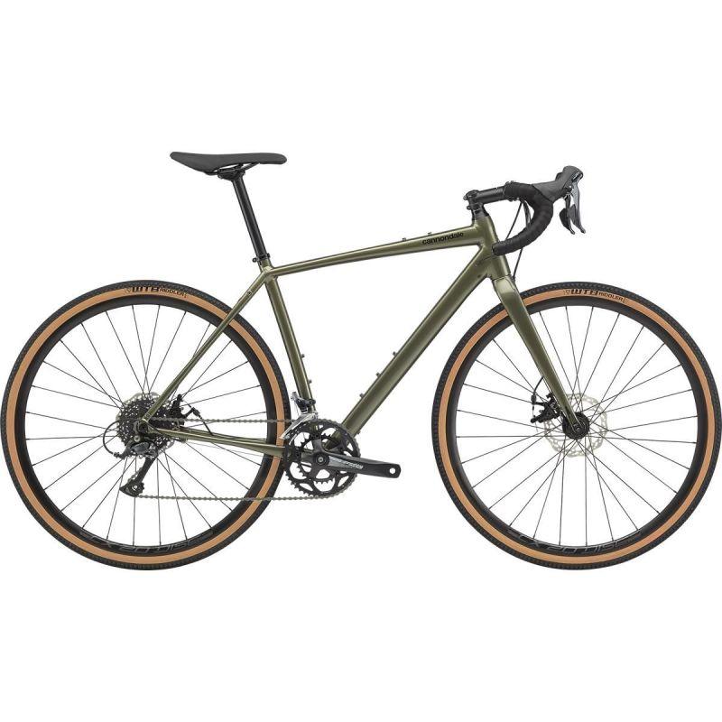Vélo de Gravel Cannondale Topstone Shimano Sora Vert Mantis 2020