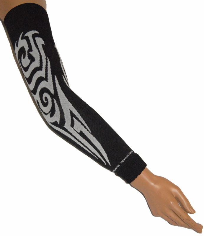 Manchettes Ventura Socks Tribal All Over Noir