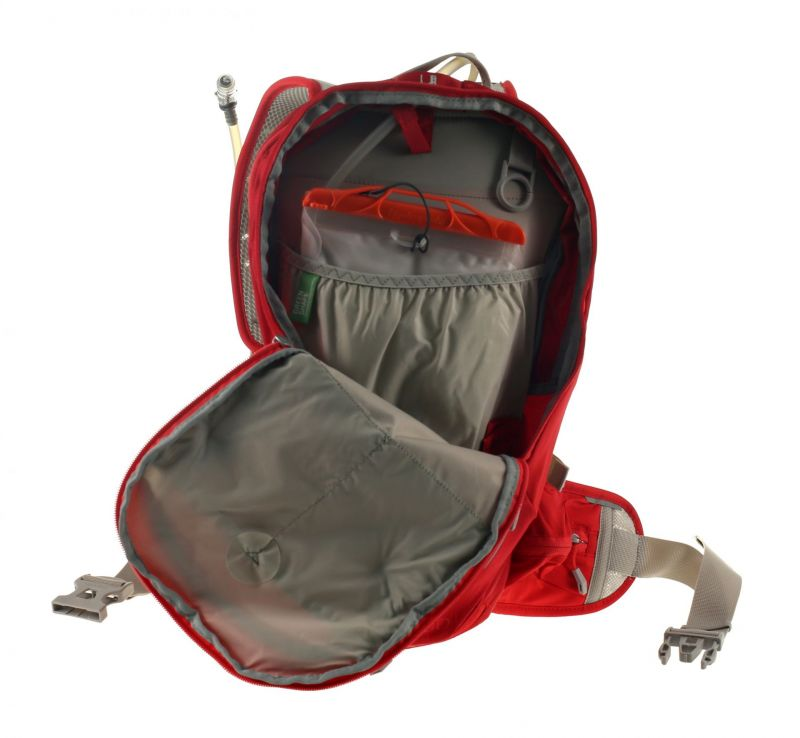 Sac à dos d'hydratation Vaude Aquarius 6+3 L Rouge - 2