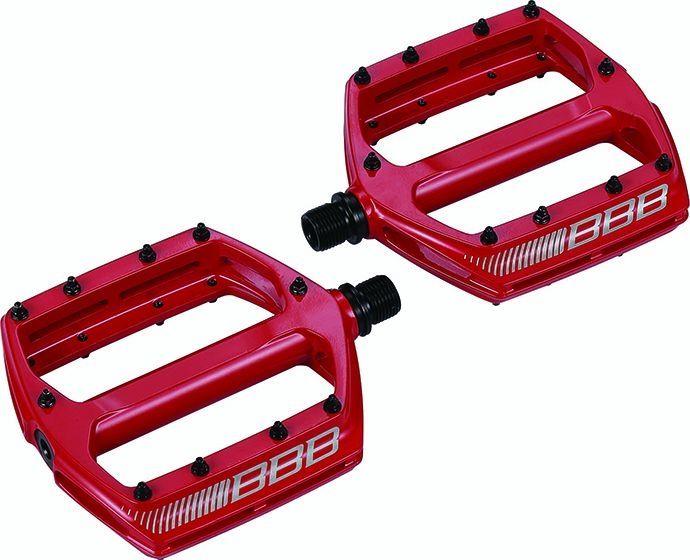 Pédales plates BBB CoolRide Rouge - BPD-36 - 1