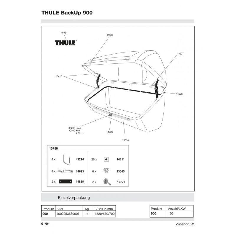 Molette Thule M8 - 13545 - 4