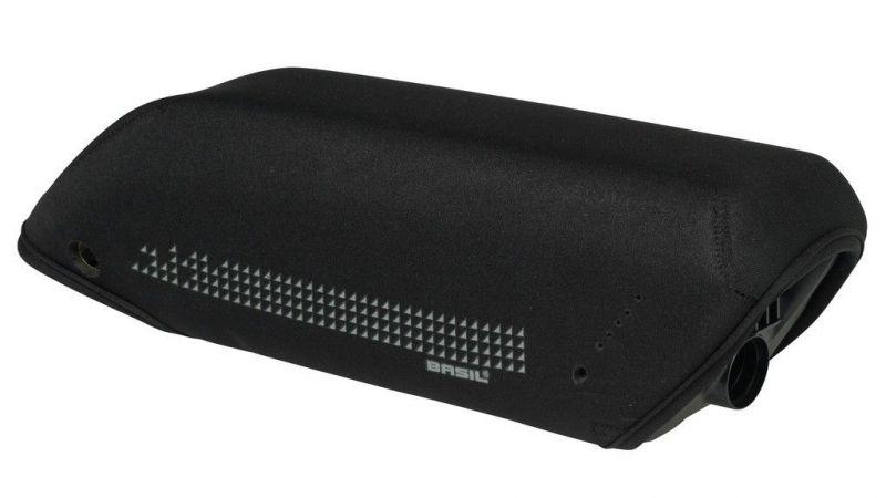 Protège-batterie VAE BASIL de cadre p. Bosch Active/Performance Line Noir