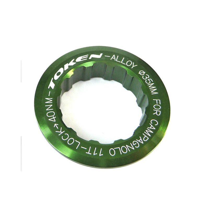 Écrou de cassette Token Campagnolo 11 dents Vert