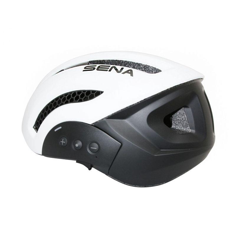 Casque vélo Sena X1 In-Mold Connection Bluetooth 4.1 Avec kit main-libre Blanc - 4