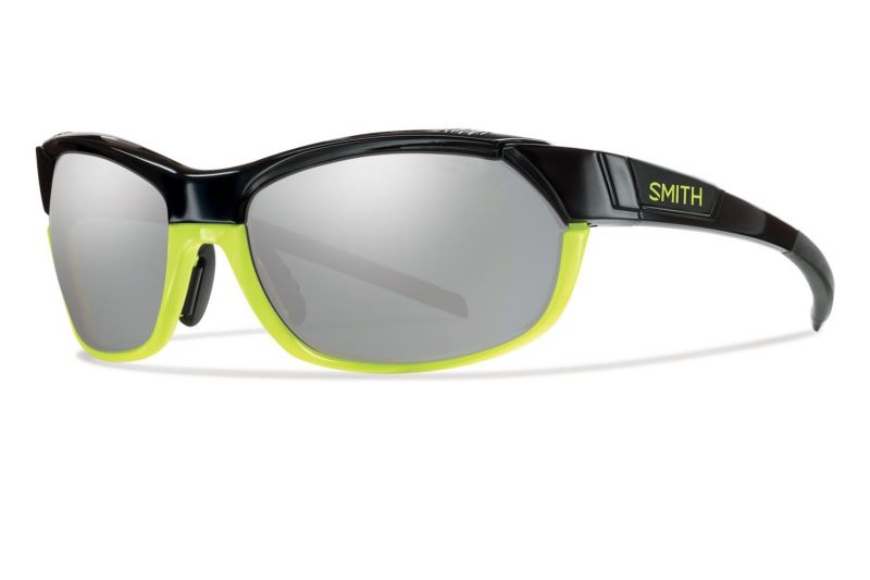 Lunettes Smith Optics PivLock Overdrive Noir Jaune fluo/Platinum