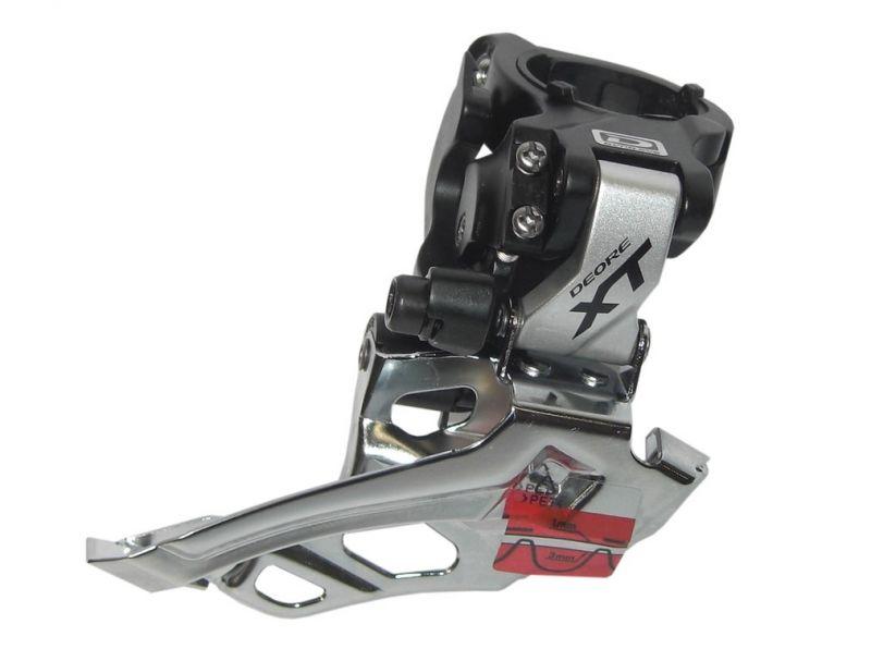 Dérailleur avant Shimano Deore XT FD-M 786X6 Down Swing Dual Pull 34,9 mm argent