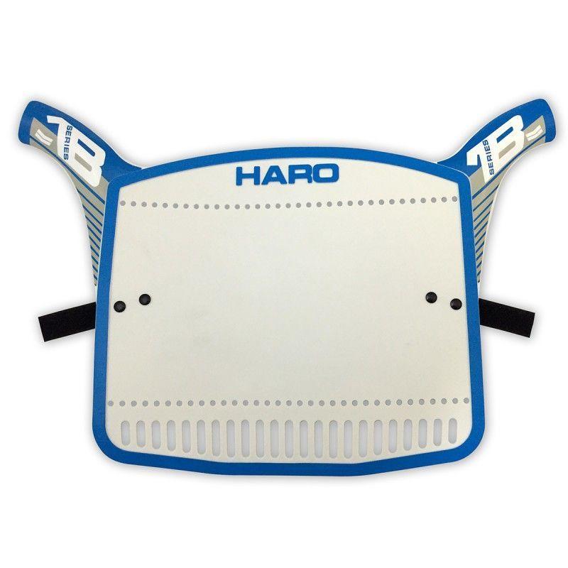 Plaque BMX Haro Replica Serie 1B Blue/Grey