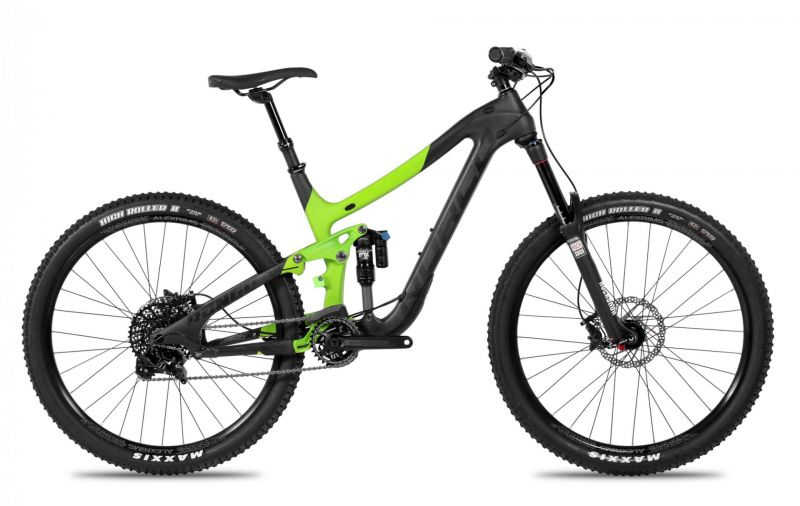 vtt tout suspendu norco range c7 3 noir vert 2016 vendre sur ultime bike. Black Bedroom Furniture Sets. Home Design Ideas