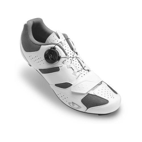 Chaussures route femme Giro SAVIX WOMEN Blanc/Titane
