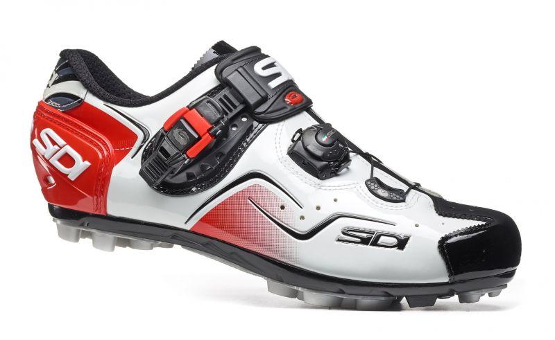 Chaussures Sidi CAPE Blanc/Noir/Rouge