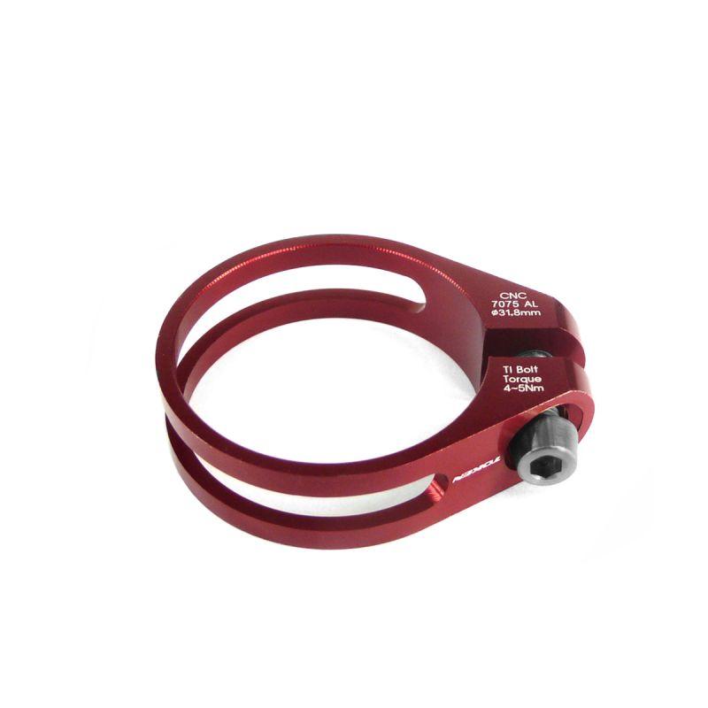 Collier de selle Token ultra light 31,8 mm Rouge