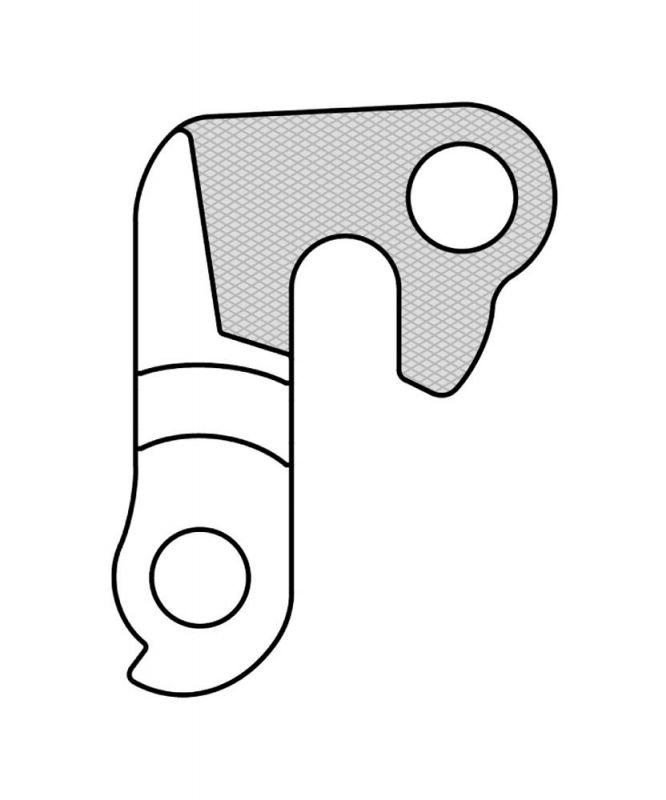 Patte de dérailleur N°134 - 2