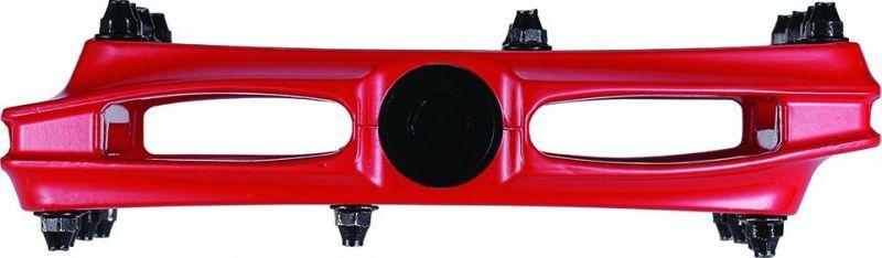 Pédales plates BBB CoolRide Rouge - BPD-36 - 4