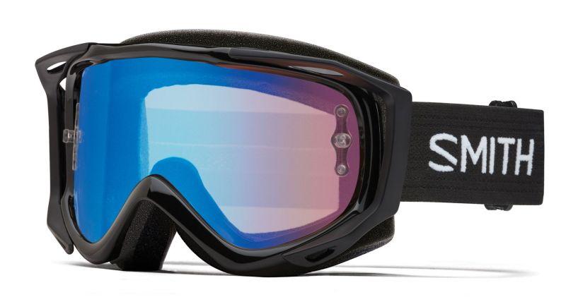 Masque Smith Optics Fuel V.2 SW-X M Noir ChromaPop Contrast Rose Flash