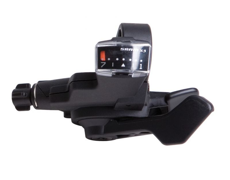 Manette SRAM Trigger X3 7V Index Droite Noir