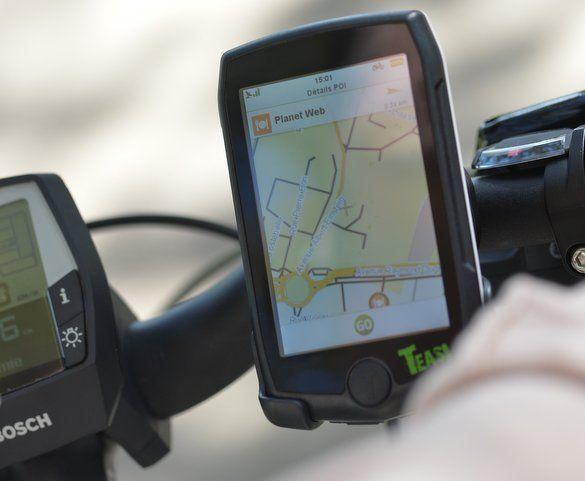 GPS Teasi Volt pour TranzX M25, F15, M16 - 1