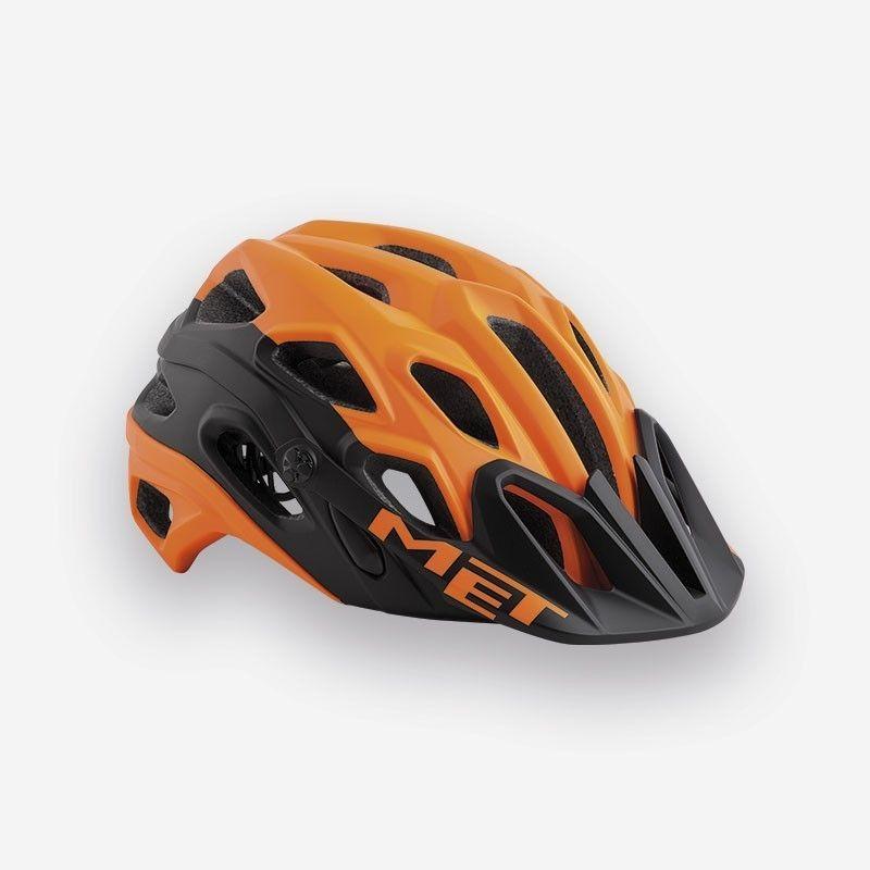 casque met lupo orange noir mat sur ultime bike. Black Bedroom Furniture Sets. Home Design Ideas