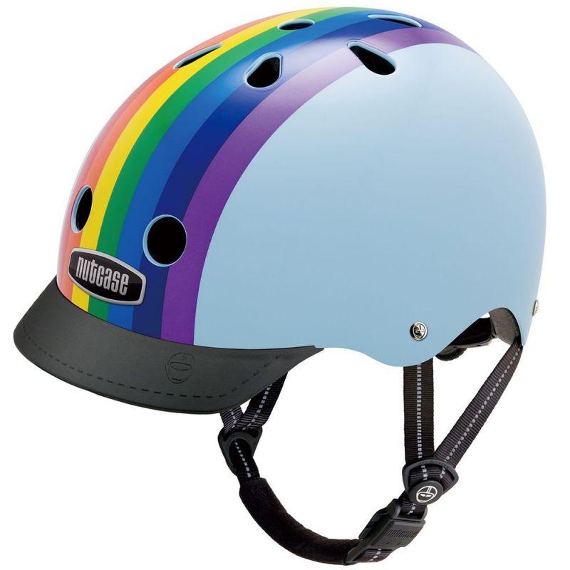 Casque Nutcase Street Rainbow Sky