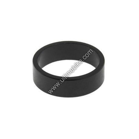 "Entretoise de direction aluminium 10 mm 1.1/8"" Noir (x4)"