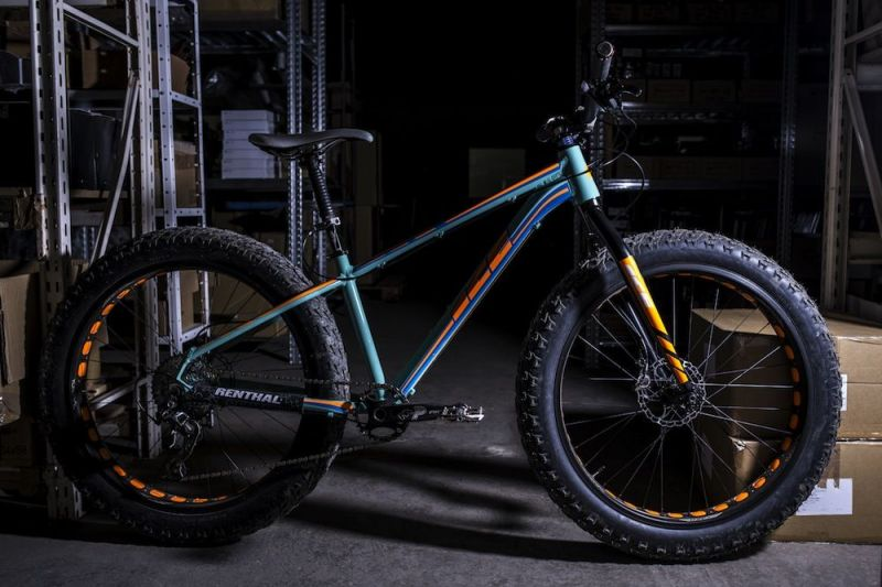 """Cadre Fat Bike Ice Yukulele 26"""" Turquoise - 1"""