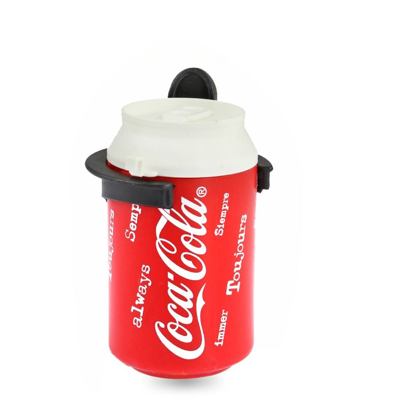 Accessoire Vélo bidon canette coca-cola Porte bidon