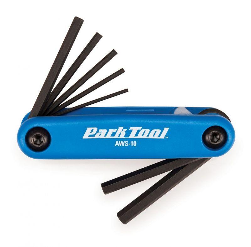 Kit clé allen Park Tool 1,5 à 6 mm - AWS-10