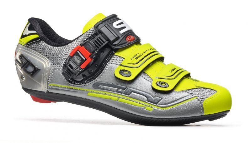 Chaussures Sidi GENIUS 7 Gris/Argent/Jaune fluo