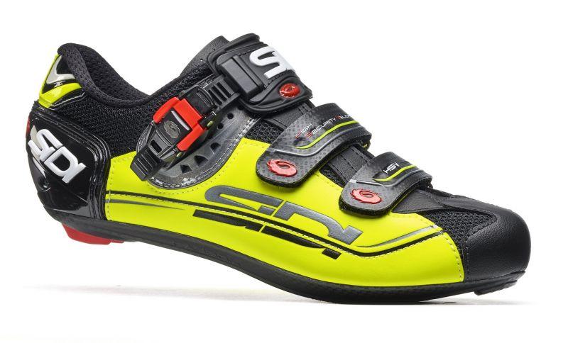 Chaussures Sidi GENIUS 7 MEGA Noir/Jaune fluo