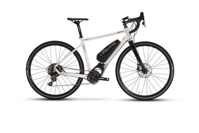 Vélo électrique Fantic Gravel GT Gran Tourismo Blanc