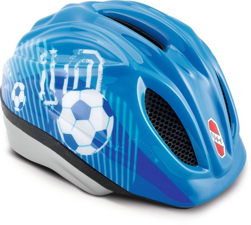 Casque Puky PH 1-S/M Bleu Football