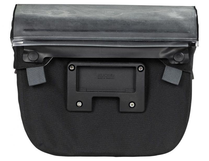 Sacoche de guidon Vaude Discover Box 6 L + support KLICKfix Noir - 1