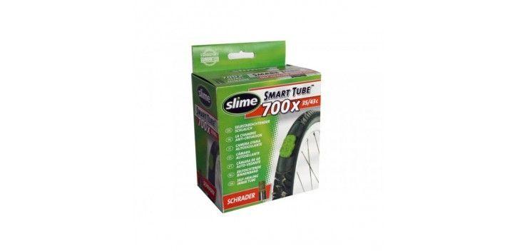 Chambre à air anti-crevaison Slime Smart Tube 700 x 35/43C Schrader