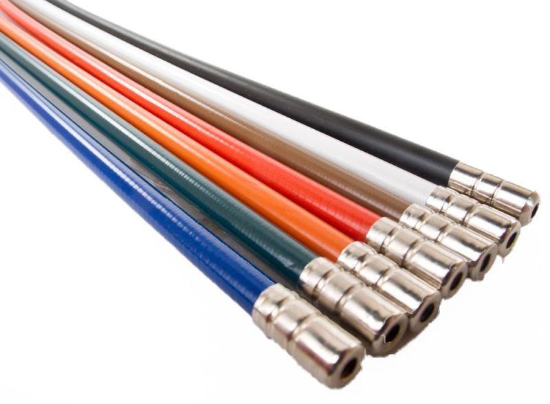 Kit câbles inox et gaines de frein Velo Orange Rouge