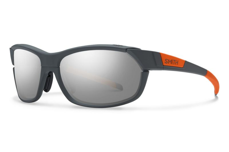 Lunettes Smith Optics PivLock Overdrive Anthracite Orange fluo/Rouge Sol-X