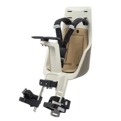 78465bb1926d Porte-bébé avant sur tube de direction Bobike Exclusive Mini Safari Chic