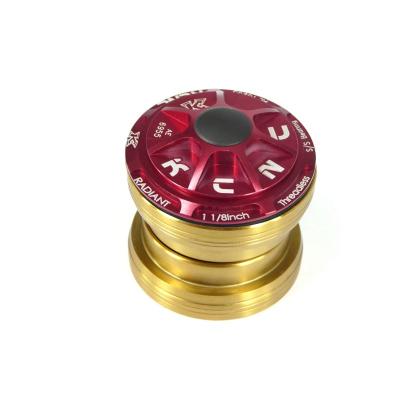 "Jeu de direction externe headset KCNC Radiant R3 1.1/8"" Rouge"