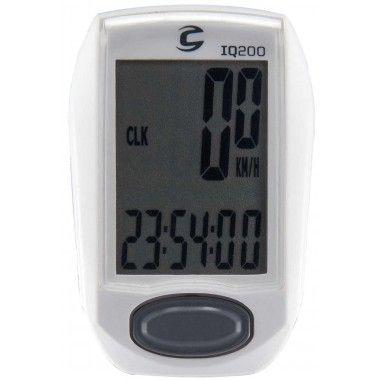 Compteur vélo sans fil Cannondale IQ200 11 fonctions Blanc