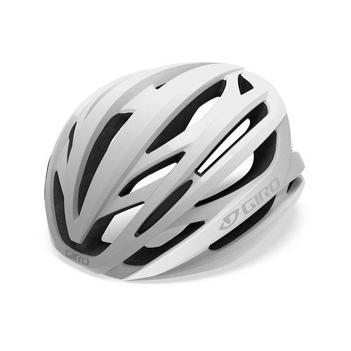 Casque Giro Syntax Blanc Mat/Argent